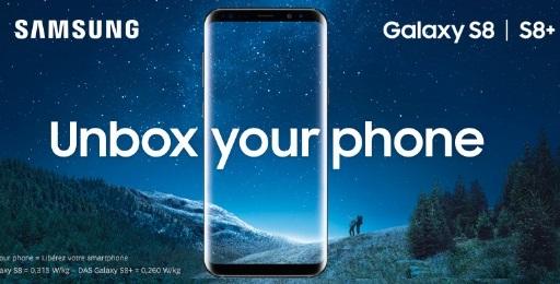 Galaxy S8 precommande