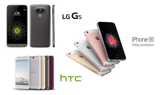 lg g5 iphone se les smartphones que vous attendiez sont arriv s. Black Bedroom Furniture Sets. Home Design Ideas