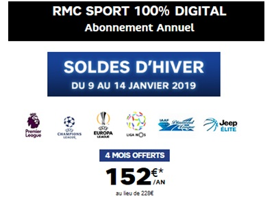 RMC Sport offert