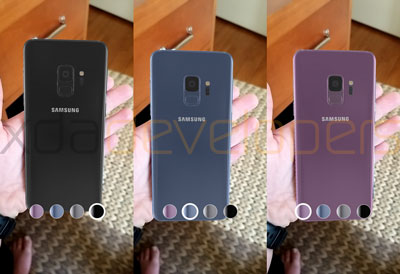 Galaxy S9 : L'application Unpacked qui dévoile son design en 3D
