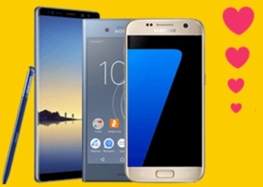 Saint-Valentin : SOSH offre jusqu'à 300 euros sur trois Smartphones
