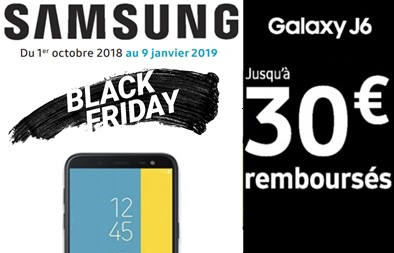 🎁 Black Friday : Le Samsung Galaxy J6 à 149€ chez Cdiscount !