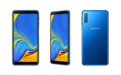 Samsung dévoile le Galaxy A7, un Smartphone avec triple capteur dorsal