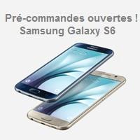 Précommande Galaxy s6 bouygues