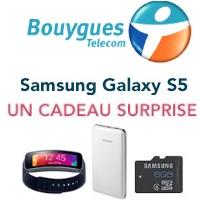 Le Samsung Galaxy S5 en précommande chez Bouygues Telecom !