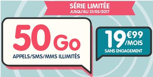 serie limitée 50Go NRJ Mobile