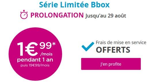 bbox bouygues telecom � 1.99�