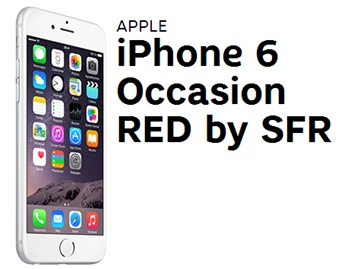 achetez votre iphone 6 d occasion avec red by sfr. Black Bedroom Furniture Sets. Home Design Ideas