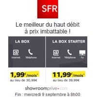 vente privee sfr box