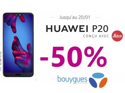 Le Huawei P20 promo Bouygues Telecom
