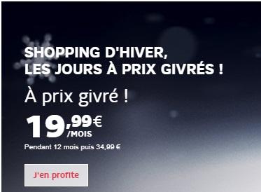 C'est déjà les soldes chez SFR : nouvelles promos sur les BOX Internet Fibre ou xDSL
