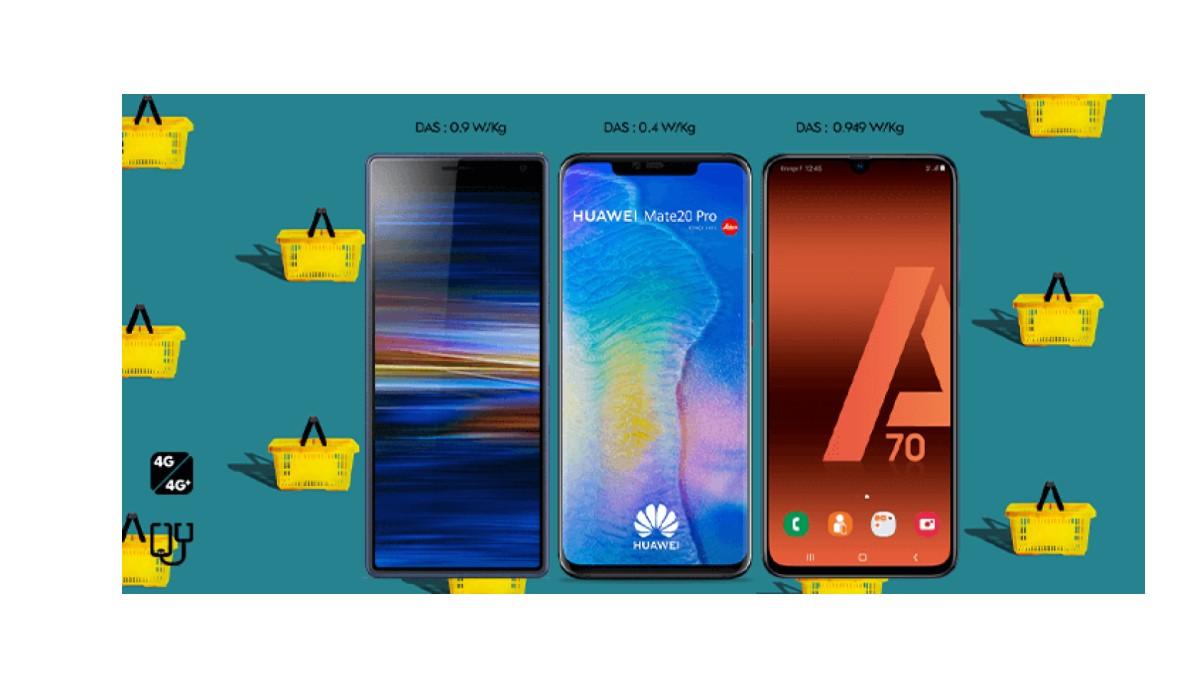 Huawei Mate 20 Pro, Galaxy A70, Huawei P Smart Z...les bons plans Smartphones de l'été continuent chez SOSH