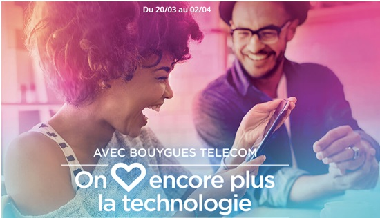Promos Bouygues Telecom Sony Xperia
