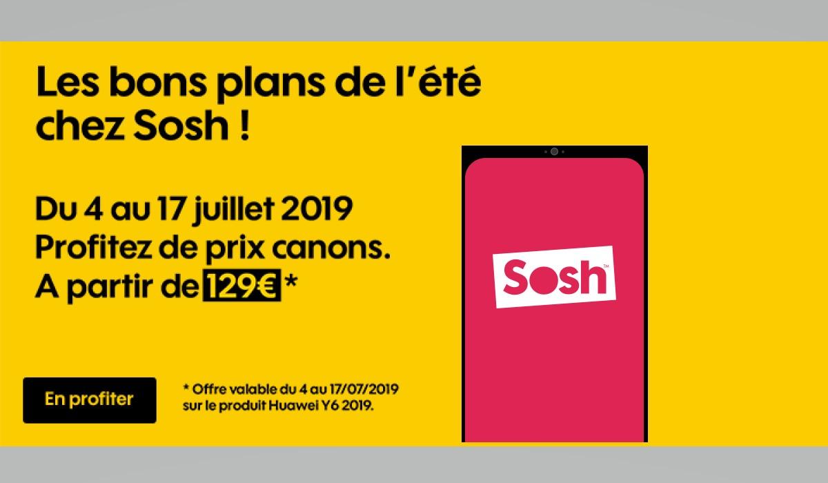 Retrouvez tous les bons plans mobile et internet de l'opérateur SOSH
