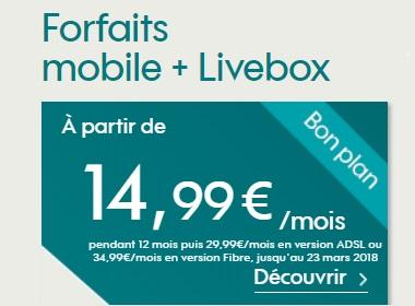 BOX et Mobile : une remise exceptionelle de 15 euros chez l'opérateur SOSH