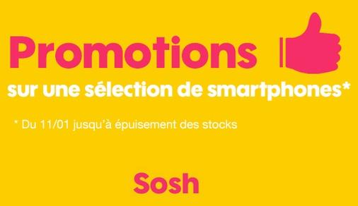 Soldes : iPhone 4S, iPhone 5s et iPhone 6 d'occasion à partir de 149 euros chez Sosh