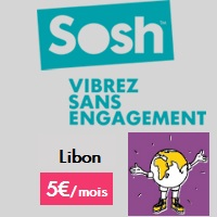 Sosh forfait mobile international