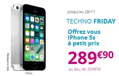 iphone 5s bouygues telecom techno friday