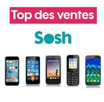 top ventes sosh iphone 6s core prime VE lumia 640