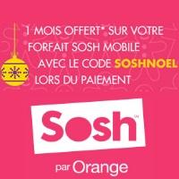 Derniers jours pour profiter d'un mois offert avant l'arrivée de la 4G chez Sosh !