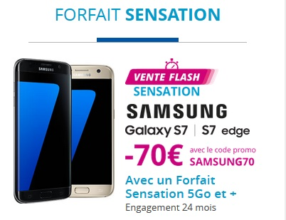 bon plan le samsung galaxy s7 ou s7 edge en vente flash chez bouygues telecom. Black Bedroom Furniture Sets. Home Design Ideas