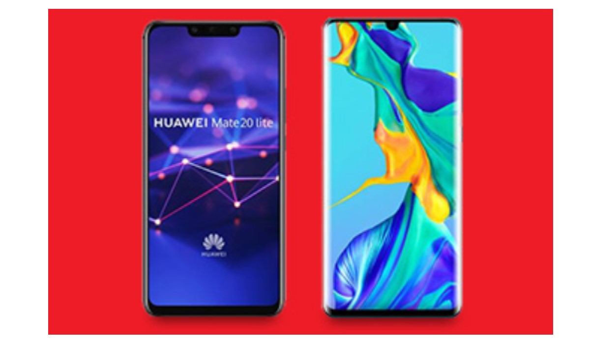 visuel vente flash Huawei Darty