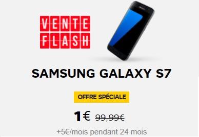 le samsung galaxy s7 en vente flash avec la s rie limit e 100go chez sfr remise de euros. Black Bedroom Furniture Sets. Home Design Ideas