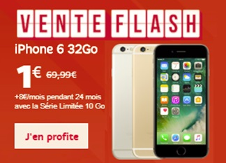 bons plans iPhone chez SFR