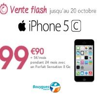 Iphone 5c en vente flash chez bouygues telecom avec un forfait sensation 8go - Vente flash telephone ...