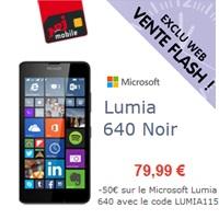 bon plan lumia 640 nrj mobile