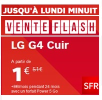 Vente flash sfr le lg g4 en promo 1 avec le forfait power 5go - Discount vente flash ...