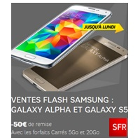 bon plan galaxy alpha galxy s5 sfr