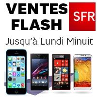 SFR : Jusqu' à 100€ de remise immédiate ou 200€ remboursés sur une sélection de Smartphones !