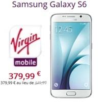 galaxy s6 disponible chez Virgin Mobile