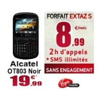 virgin mobile alactel ot 803 extaz