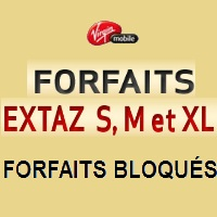 virgin mobile forfaits extaz bloqués