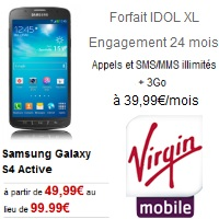 virgin mobile galasy s4 active