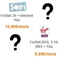 virgin mobile sosh spécial internet