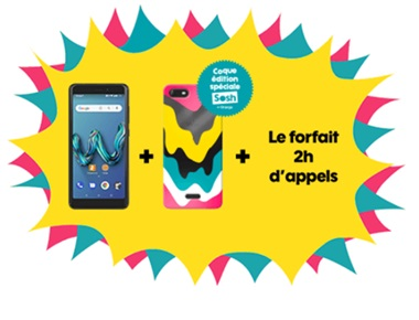wiko tommy3 + forfait sosh