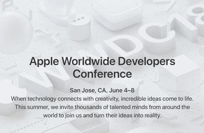 WWDC 2018 : Le Keynote Apple se tiendra le 4 juin à San José