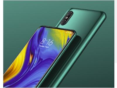 Xiaomi Mi Mix 3 vue de face et de dos