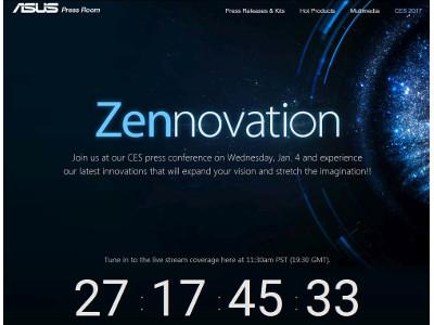 Asus lève le voile sur le Zenfone 3 Zoom et le Zenfone AR au CES 2017