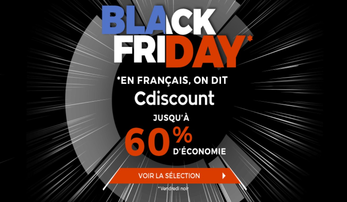 visuel black friday cdiscount