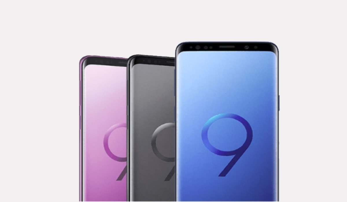 galaxy s9 vue de face