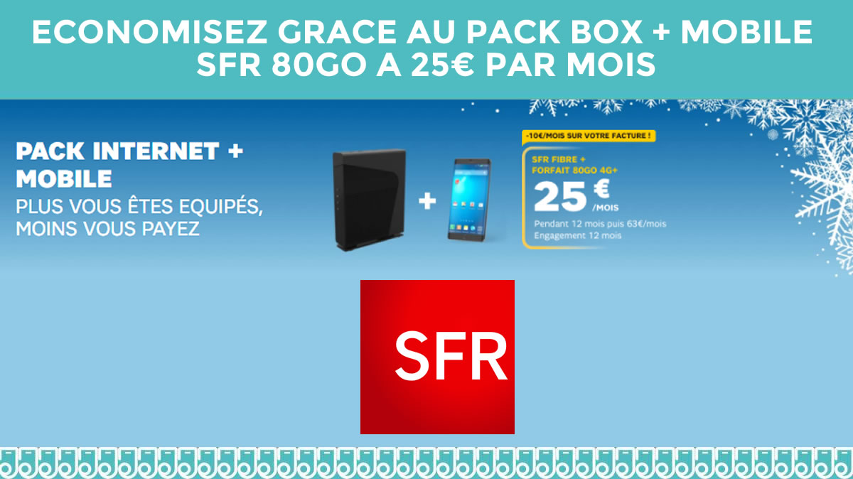 sfr box et mobile