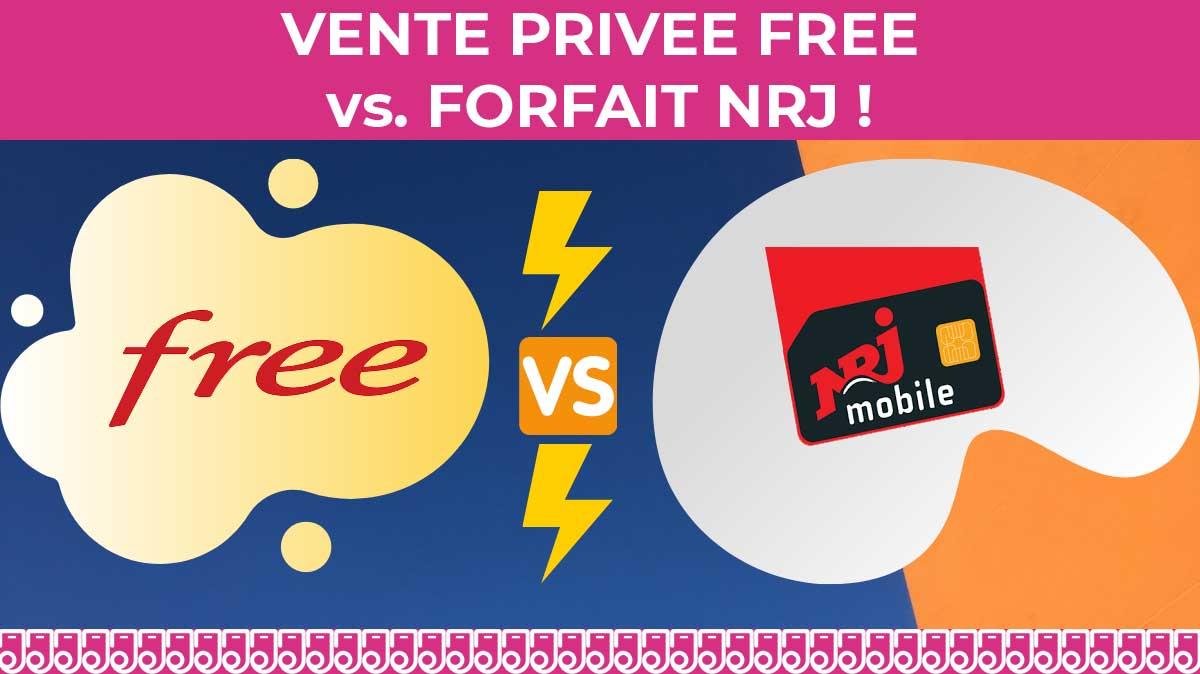 Duel des forfaits mobiles 100Go : Free mobile vs. NRJ Mobile - Edcom