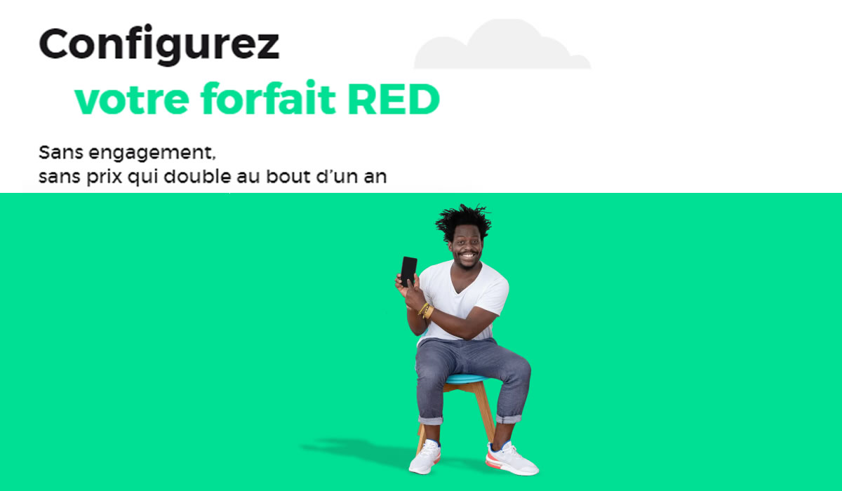 forfaits red mobile en promotion