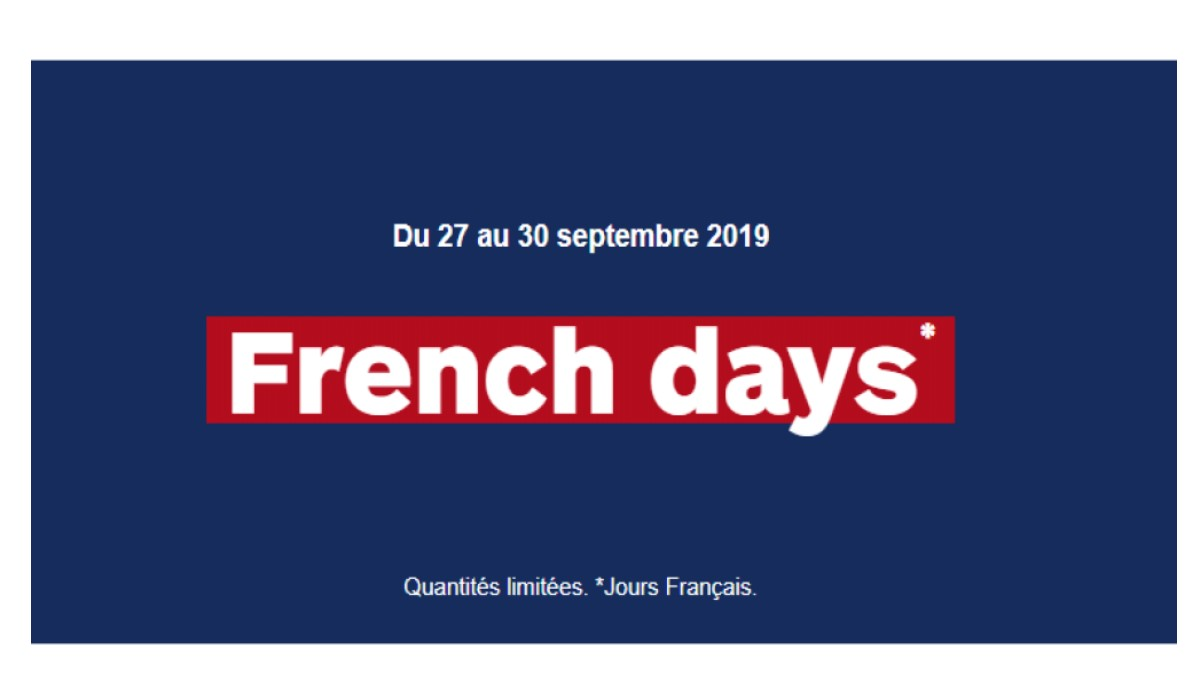 visuel french days boulanger