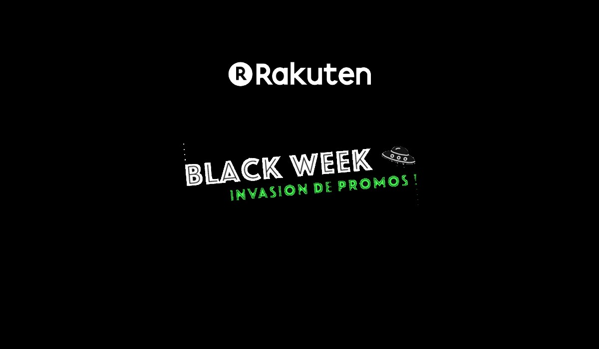 Black Week Invasion de promos Rakuten