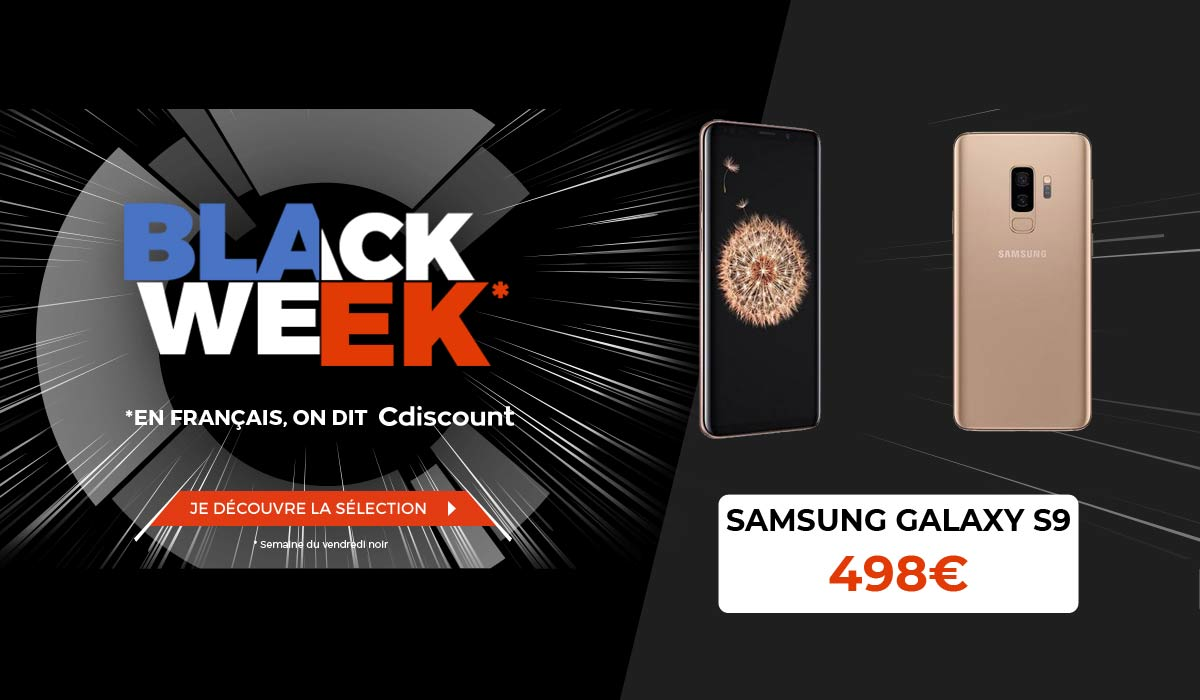 black week cdiscount